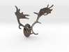 Fallow Deer Mount For Steel 3d printed