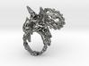 Tricera Ring (Size 6) 3d printed