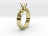 Ladybird Ring Ø14.73mm For Ø5mm Diamond size 46 3d printed