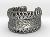 Voronoi Light Weight Ring 3d printed