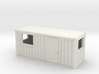 N Scale 20 Ft Office Container 3d printed