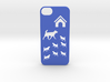 Iphone 5/5s dogs case 3d printed