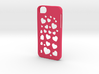 Iphone 5/5s case hearts 3d printed