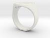 Enneagram Big Ring - Size 10.5 3d printed