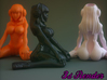 Solid Stylus Holder Cyber Girl 108mm 3d printed