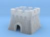Cherry MX Castle Keycap 3d printed