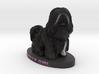 Custom Dog Figurine - Tilly 3d printed