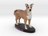 Custom Dog Figurine - Freckles 3d printed