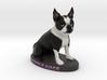 Custom Dog Figurine - Beetlejuice 3d printed