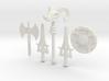 MOTU weapons bundle for Lego 3d printed