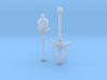 Sailor Moon Wand Mini for Action Figures 3d printed
