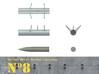 1/18th WGr 21 Rocket Launcher kit. 3d printed