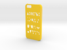 Iphone 6 Geometry case 3d printed