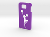 Samsung Galaxy Alpha Cheerleader case 3d printed