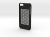 Iphone 6 Greek meander case 3d printed