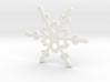 Snowflake - Christmas Tree Ornament (Bauble) 3d printed