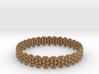 Wicker Pattern Bracelet Size 6 3d printed