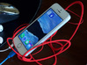Space Cradle for Phones, E-Readers, and Tablets 3d printed iPhone5s