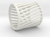Napkin Ring Twist 3d printed