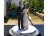 Patrick and Alyssa Cake Topper 3d printed