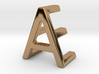 AE EA - Two way letter pendant 3d printed