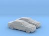 1/148 2X 1998 Jaguar S Type 3d printed