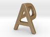 AP PA - Two way letter pendant 3d printed