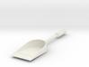 Tea Shovel 3d printed