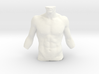 Man Body Part 001 scale in 4cm 3d printed