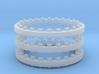 Rotary Kiln 27.25mm 3 Rings FUD 3d printed