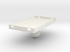 Mobile phone attachment plate for bicycle or motor 3d printed