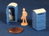 Port-a-Potty (x2) HO Scale 3d printed