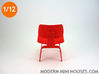 Eames Dining Chair 1:12 scale 3d printed