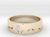 ECG spinner ring (spinner part 3 of 3) 3d printed