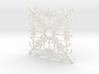Super Mario Snowflake 2 3d printed