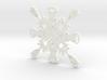 Batman Harley/Joker Snowflake 3d printed
