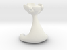 Miniature Minimalist Alien Rook Chess Piece 3d printed