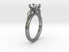 Delphin Ring Ø8.35 Mm For Ø6.5 Mm Diamond 3d printed