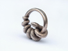 Reverse Snake Ring 3d printed Stainless Steel