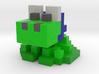 Hoodie the Frog 3d printed