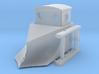Snowplough FCL H0m 3d printed H0m narrow gauge railway snowplough of Ferrovie Calabro Lucane FCL
