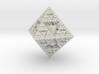 Snowflake Fractal 3d printed