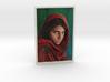 Afghan Girl 3d Photo 3d printed mona lisa