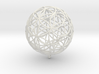 Pendant 45mm Flower Of Life  3d printed