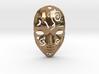 Festival Mask Pendant 3d printed
