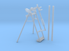 Drill Rod Holder and Stand 1:6 3d printed