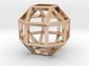 Rhombicuboctahedron Pendant 3d printed