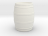 Tabletop: Basic Barrel 3d printed