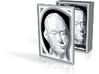 Pinhead Decoupage Box - 3in 3d printed