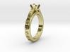 Ø0.630inch - Ø16 mm Diamond Ring Ø4.8 Round Diam.  3d printed